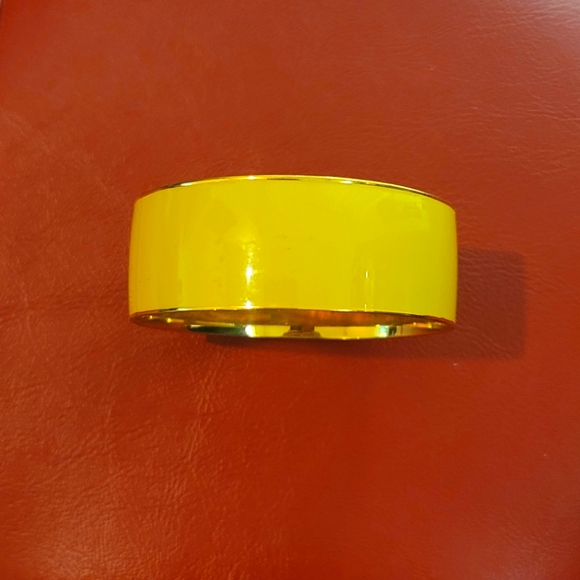 JCREW Large Yellow Bangle